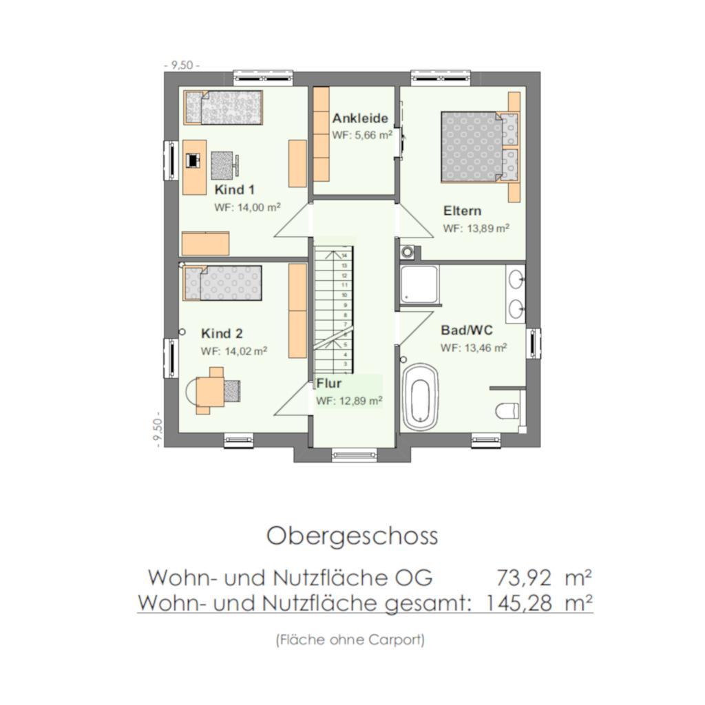 Haustypen-Stadtvilla145 OG