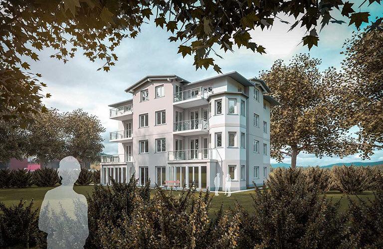 Haustyp Mehrfamilienhaus Villenstil klein